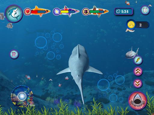 Ocean Shark Simulator u2013 Animal Attack Simulator 0.1 screenshots 13