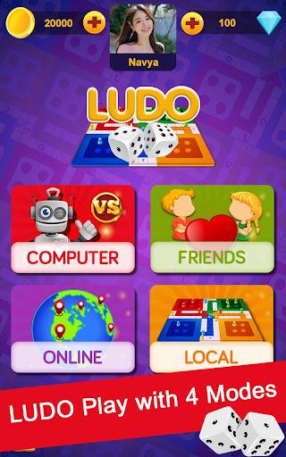 Télécharger Ludo Game : Online, Offline Multiplayer APK MOD (Astuce) screenshots 1