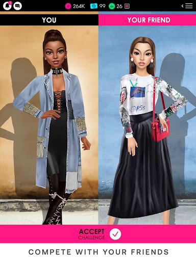 GLAMM'D - Style & Fashion Dress Up Game apktram screenshots 15