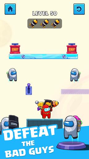 Rocket War: Impostor Fight screenshots 2