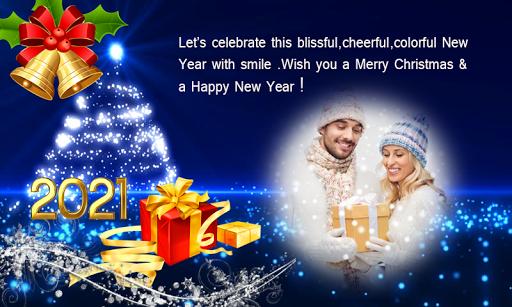 2021 Christmas Greetings Photo Frames 1.0.3 Screenshots 9