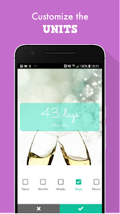 Wedding Countdown Widget Screenshot