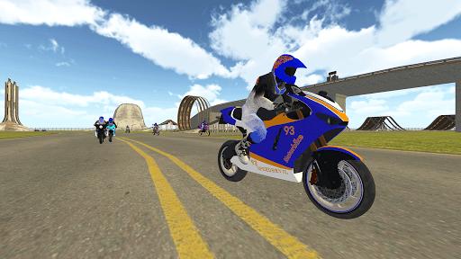 Bike Rider VS Cop Car - Police Chase & Escape Game Apkfinish screenshots 6