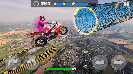 Sky Bike Stunt Master : Free Offline Racing Game  screenshots 9