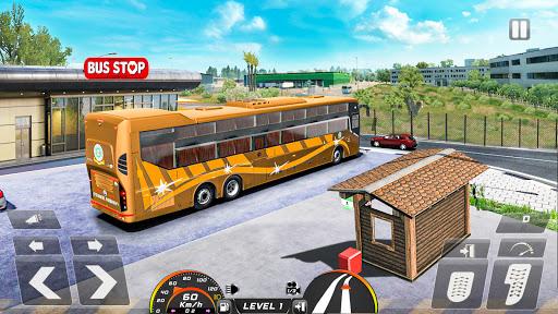 Real Bus Simulator Driving Games New Free 2021 2.1 screenshots 8