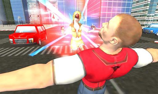 Flying Superhero Revenge: Grand City Captain Games screenshots 3