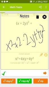 Math Tests – mathematics practice questions Apk 5