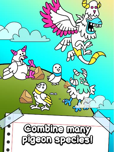 Pigeon Evolution - Merge & Create Mutant Birds  screenshots 7