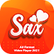SAX Video Player - All Format Full Screen Player - 動画プレイヤー&エディタアプリ