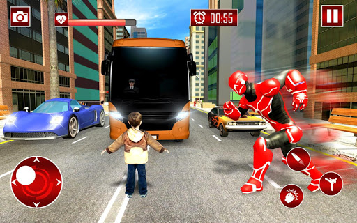 Real Robot Speed Hero apkpoly screenshots 19
