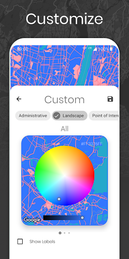 Cartogram - Live Map Wallpapers & Backgrounds modavailable screenshots 4