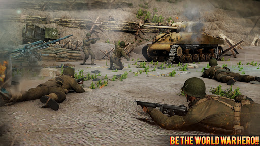 Call Of Courage : WW2 FPS Action Game android2mod screenshots 11
