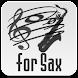"""サックス移調 """"Sax Transposition"""" - Androidアプリ"""