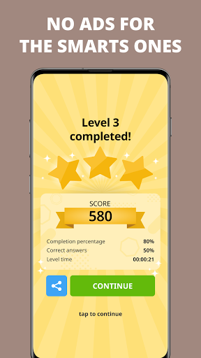 Free Trivia Game. Questions & Answers. QuizzLand.  Screenshots 7