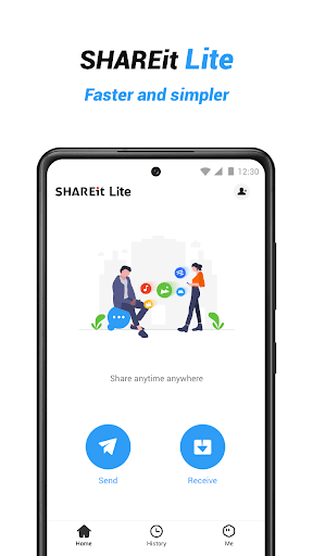 SHAREit Lite - Share & File Transfer App, Share it 3.0.58 screenshots 1