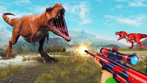 Angry Dinosaur Hunter : Animal Hunting Games  screenshots 2