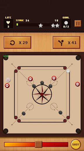 Carrom Champion modiapk screenshots 1