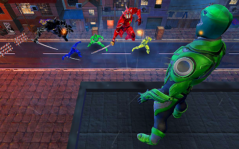Dino Hero Ninja Fighters Battle Shadow Steel Game Hack Android and iOS 2