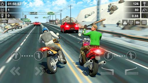 Traffic Racer: Dirt Bike Games  screenshots 2