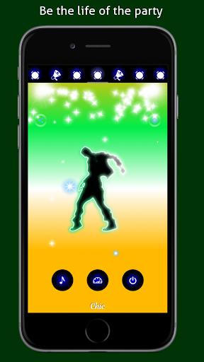 Disco Light: Flashlight with Strobe Light & Music 4.5 Screenshots 5