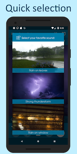 Relax Rain - Rain sounds: sleep and meditation android2mod screenshots 2