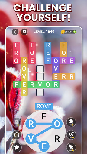 Word Rainbow Crossword android2mod screenshots 4