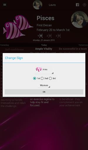 Women Horoscope modavailable screenshots 11
