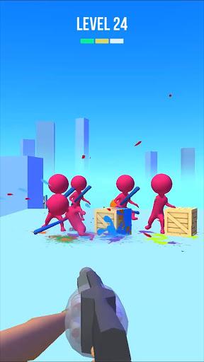 Paintball Shoot 3D - Knock Them All apkdebit screenshots 7