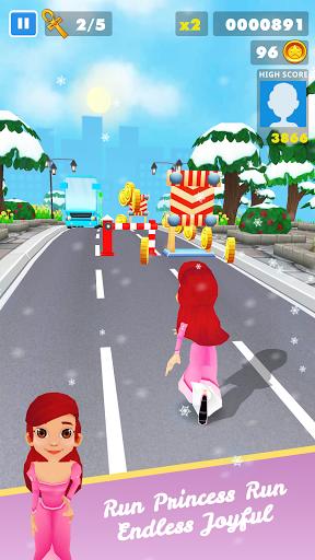 Subway Princess Runner Surf apklade screenshots 1
