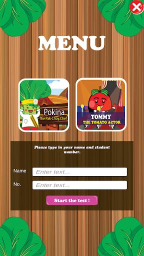 toefl like game tommy & pokina screenshot 2