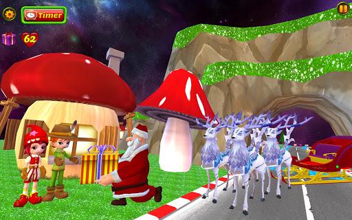 Santa Christmas Infinite Track screenshots 21