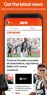 JAFA: Football Fan Opinion & Personalised News App 2.1.46 Mod APK (Unlock All) 2
