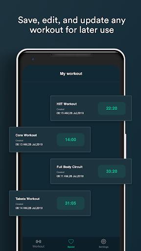 Workout Timer Custom Intervals android2mod screenshots 4