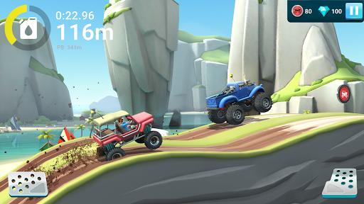 Télécharger MMX Hill Dash 2: monster trucks, voitures & motos apk mod screenshots 1