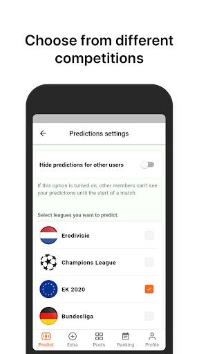 Voetbalpoules Euro 2020 Pool  screenshots 4