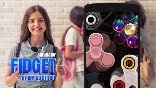 Fidget finger spinner sim For Pc – Windows 7/8/10 And Mac – Free Download 2