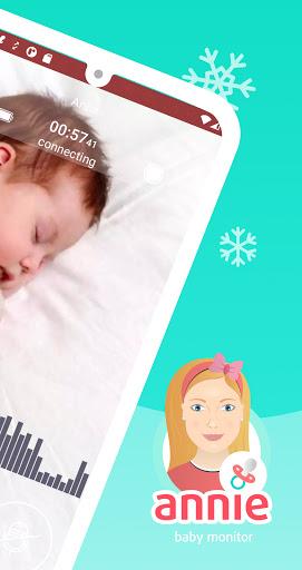Annie Baby Monitor: Video Audio Nanny Cam 3G WiFi 3.12.1+master.c9ab675da Screenshots 2