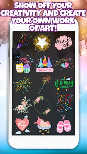 Birthday Party Invitation Card Maker with Photo 1.0 Screenshots 4