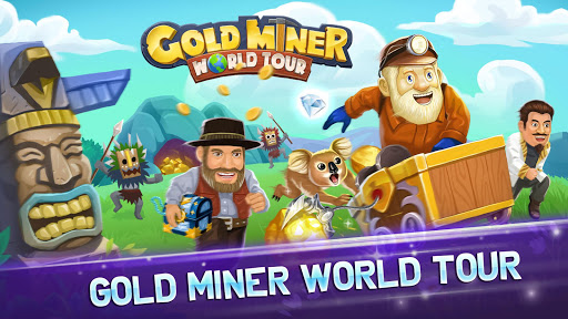 Gold Miner World Tour: Gold Rush Puzzle RPG Game apktram screenshots 6