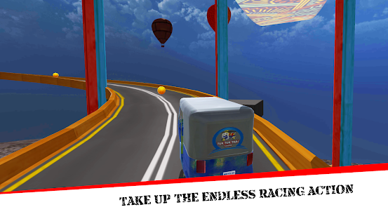 Mega Rikshaw Extreme Impossible Stunts 3D For Android 3
