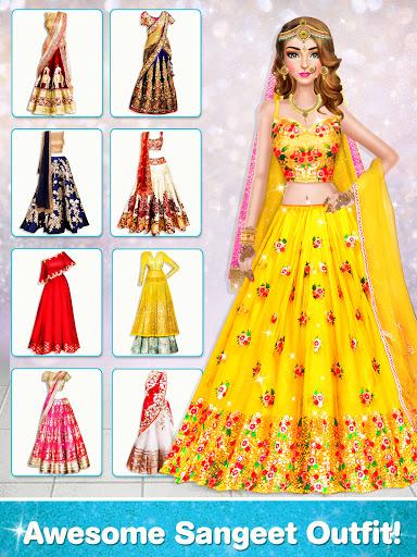 Indian Wedding Stylist - Makeup &  Dress up Games 0.17 screenshots 8