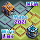 Clash of Maps - Layouts, Base Design with link Pro