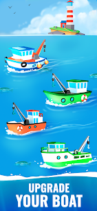 Fish Idle Hooked Tycoon Mod Apk , Fish Idle Mod Apk Unlimited Money And Gems 3