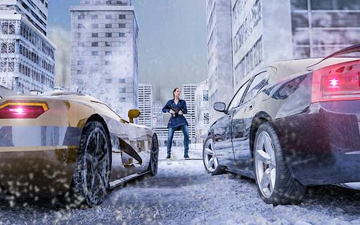 Hiver Ville Tireur Bandit Mafia APK MOD – Pièces de Monnaie Illimitées (Astuce) screenshots hack proof 1