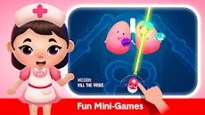 幸せな病院ゲーム - 医者 の子供 ゲームのおすすめ画像4