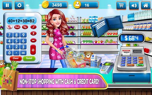 supermarket shopping cash register cashier games screenshot 1