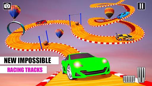 Ramp Car GT Racing Stunt Games 2020: New Car Games apkslow screenshots 1