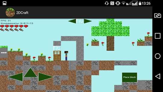 2DCraft: Building and Survival in 2D Online Hack Android & iOS 4