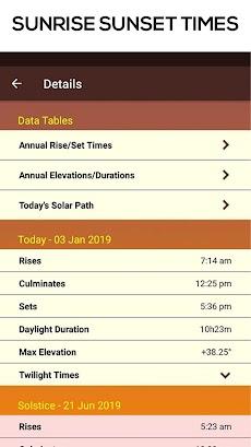 Sun Seeker - Sunrise Sunset Times Tracker, Compassのおすすめ画像5