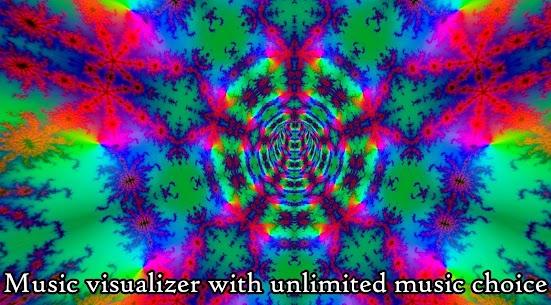 Fractal Tunnels -Music visualizer & Live Wallpaper 203 Download Mod Apk 1